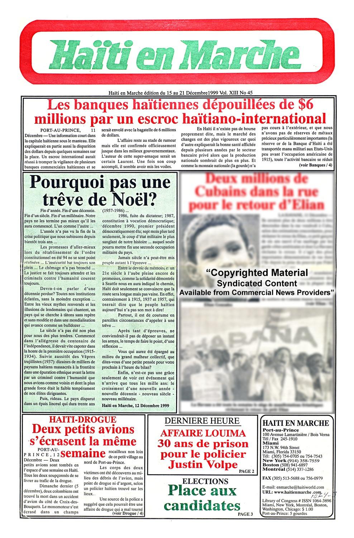 Haïti en marche - Page 1