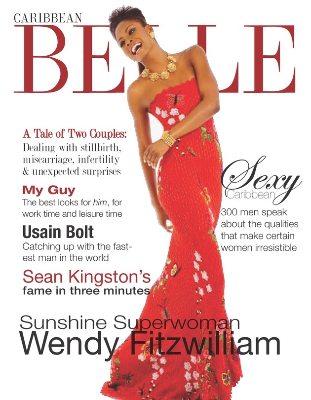 Caribbean belle - Front Cover
