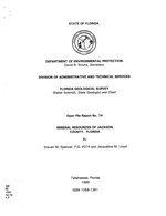 Mineral resources of Jackson County, Florida