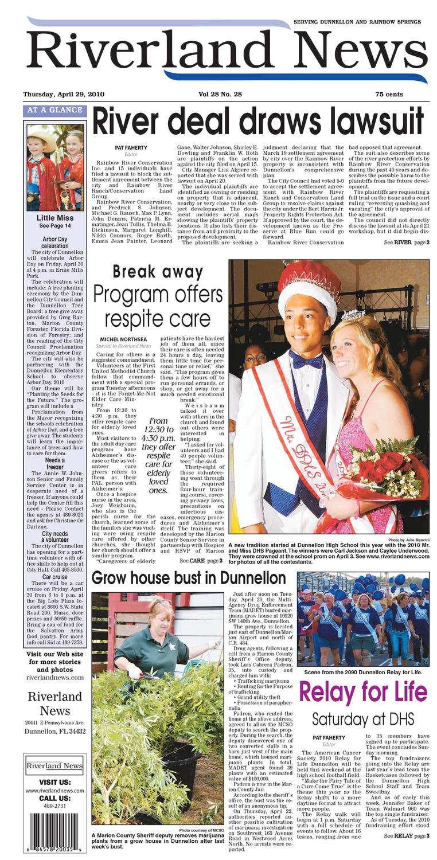 Riverland news - Page 1