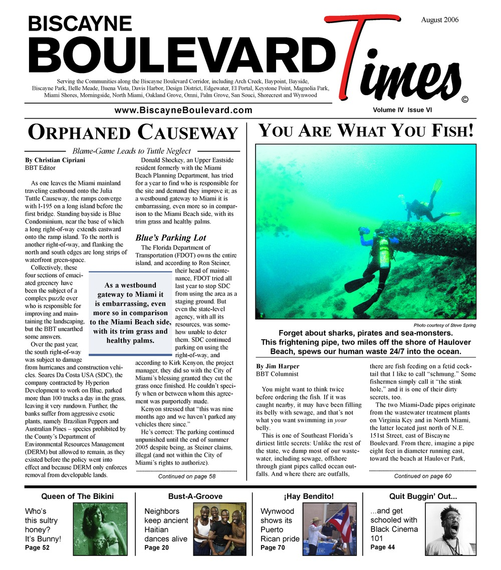 Biscayne Boulevard times - Page 1