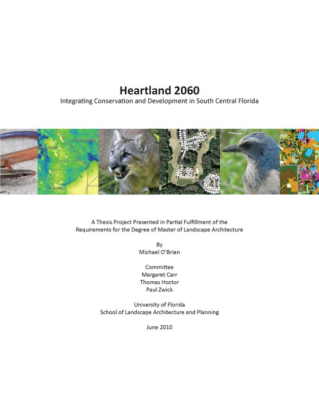 Heartland 2060 : integrating conservation and development in South Central Florida - Page 1