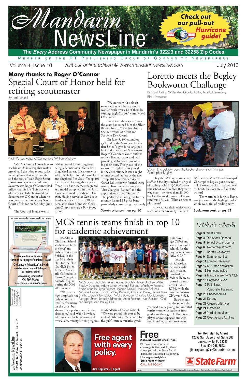 Mandarin newsline - Page 1