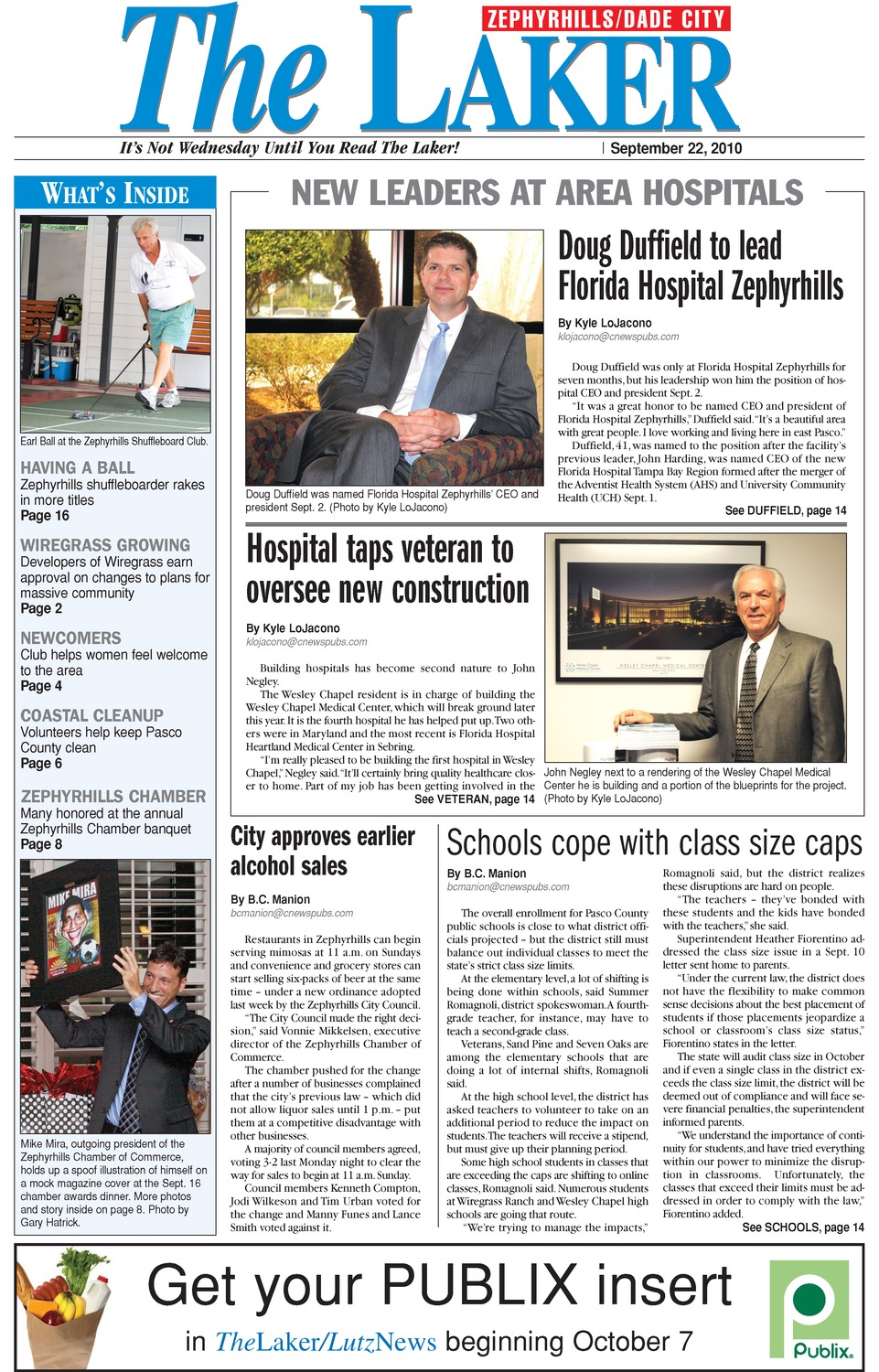 Laker (Zephyrhills edition) - Page 1