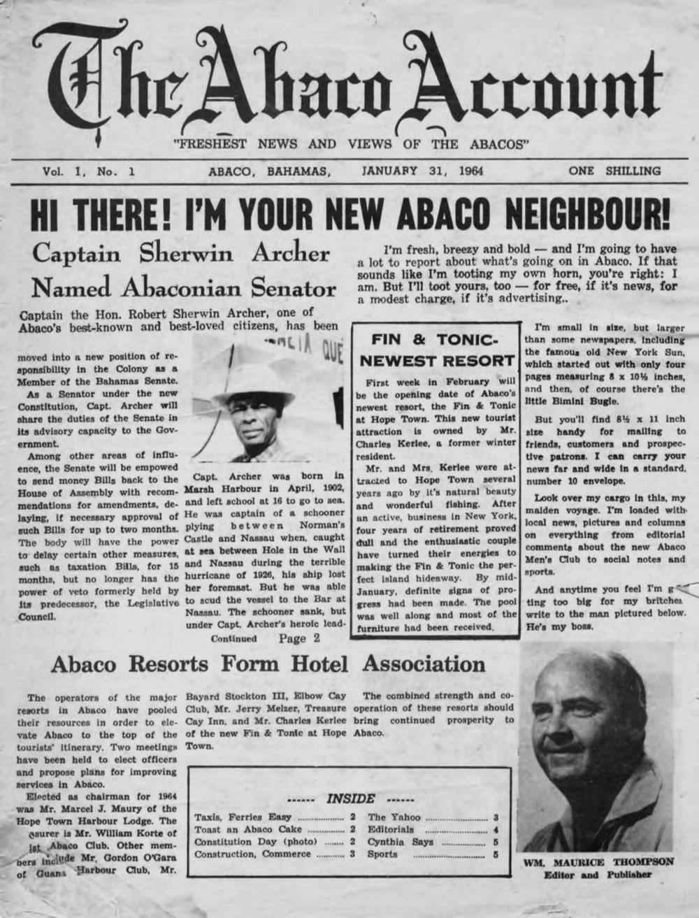 Abaco Account - Page 1