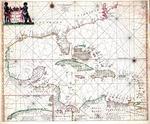 Pascaerte van Westindien de vaste kusten en de eylanden