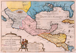 Le Vieux Mexique, ou, Nouvelle Espagne auec les costes de la Floride