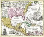 Regni Mexicani seu Novµ Hispaniµ, Ludovicianµ, N. Angliµ, Carolinµ, Virginµ et Pensylvaniµ necnon insvlarvm archipelagi Mexicani in America Septentrionali
