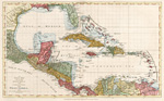 An index map to the following sixteen sheets, being a compleat chart of the West Indies