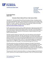 University of Florida Celebrates 80 Years of Latin American Studies ( Press Release )