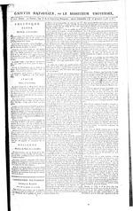 Gazette Nationale ou Le Moniteur Universel, Port-au-Prince copy