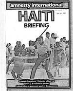 Haiti : Amnesty International briefing, 14p.
