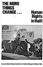 The More things change : human rights in Haiti