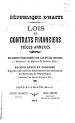 Lois et contrats financiers, pieces annexes : documents collationnes sur les textes officiels: Ed. rev. et cor.,by Gustave Chaumette, (The signature of G. Chaumette is on verso of t.p.) 1+54+1p