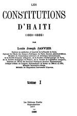 Les constitutions d'Haïti (1801-1885)