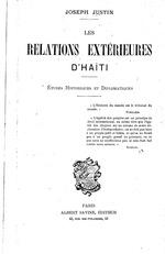 Les relations extérieures d'Haïti