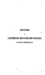 Histoire de l'expedition des Francais a Saint-Domingue, sous le consultat de N. Bonaparte, by Antoine Metral, Paris, 1825.  (BCL-Williams Mem.Eth.Col.Cat. #593)