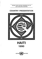 Country presentation by the Government of the Republic of Haiti