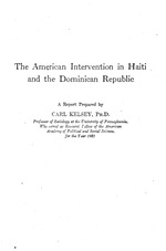 The American intervention in Haiti and the Dominican Republic