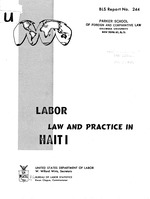 Labor law and practice in Haiti