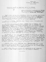Regne de Kigeri IV Rwabugiri. Premiere guerre de Rwabugiri contre le Burundi. Interrogatoire de Kayambere, pretendu fils de [Mibambwe IV] Rutarindwa. Rutshuru, Notes originales J.M. Derscheid, March 26, 1931.