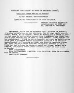 """[Yuhi II Mazimpaka]. Histoire """"officielle"""" du regne de Mazimpaka (Yuhi) (considere comme 32e roi du Ruanda) suivant Kalera, umutshurubwenge (gardien des traditions) a la cour de Nyanza. Version integrale suivant un interrogatoire par M.M. Leenaerts et Sandraerd."""