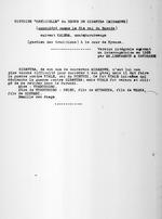 """[Mibambwe Gisanura]. Histoire """"officielle"""" du regne de Gisanura (considere comme 31e roi du Ruanda) suivant Kalera, umutshurubwenge (gardien des traditions) a la cour de Nyanza. Version integrale suivant un interrogatoire en 1925 par M.M. Leenaerts & Sandraerd, 1925."""