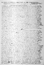 """""""La Grace au Ruanda"""" – Un coup d'oeil sur son evangelisation."""" Resume d'un article de 16 pages par R. P. De Meire de Kabgayi? [Crossed out: R. P. Vanneste, with ms. addition of """"De Meire de Kabgayi""""]. 2 pages."""