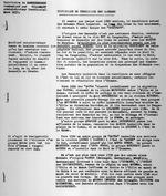 """""""Historique du Territoire des Babembe."""" Territoire de KAMEMBEMEMBE. Communique par WILLEMART Administrateur Territorial. Mars 1935. 6 pages."""