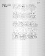 Ruanda 1931. Creation du territoire administrative de Byumba. Typescript. 1 page.
