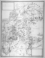 1890. [Draft historical map]. fin janvier foundation, 3 avril adandon de N.D. de Bon Secours [?] a Sese; mi mars foundation de N.D. de l'Esperance (Bisoga). Reste a placer N. D. [Notre Dame] des Exiles.