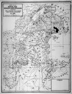 Carte de la region des grands lacs Africains indiquant les limites politiques des etats indigenes en 1450. Dressee par J. M. Derscheid, DrSc. 1940.