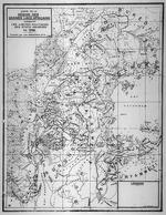 Carte de la region des grands lacs Africains indiquant les limites politiques des etats indigenes en 1540. 1940.
