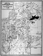 Carte de la region des grands lacs Africains indiquant les limites politiques des etats indigenes en 1620. 1940.