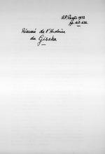 """""""Resume de l'Histoire du Gisaka."""" R. P. Pages. """"Un Royaume Hamite… ?""""  1933.  9 pages."""