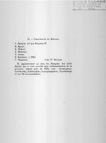 """""""XI. Principaute du Kingogo."""" Extrait de R. P. Pages. """"Un Royaume Hamite au Centre de l'Afrique?"""" 1933.  1 page."""