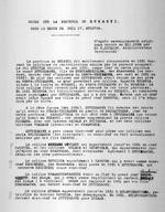Notes sur la Province du Rukaryi sous le regne de Yuhi IV. Musinga. D'apres renseignements originaux donnees en XII.1932 par Mr R. Schmidt, Administrateur Territoriale. Typescript. 2 pages.