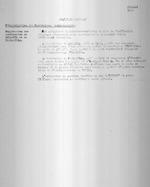 Ruanda 1932. Politique Generale. Reorganisation des Territoires Administratifs. Suppression des territories de Muramvya et du Tanganyika. Typescript. 1 page.