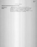Ruanda 1932. Politique Generale. Reorganisation du Territoire de Kabaya. Typescript. 1 page.
