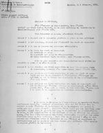 Residence du Ruanda. Territoire de Kamembe-Shangugu. Copie. No 1034/R.A. Objet: rapport politique. Suite no 2751 du 19-11-31. Kamembe, le 2 decembre, 1931. Le Chef de Poste Dryvers. Typescript. 16 pages.