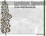 Union Lawn at the University of Florida : an urban campus stormwater park