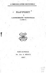Rapport à l'Assemblée nationale