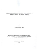 Structure-function studies of murine gamma interferon