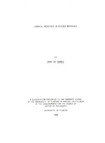 Chemical processes in viscous materials