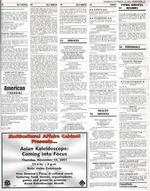 Asian Kaleidoscope Month advertisement, November 15, 2001