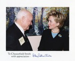 Chesterfield Smith with Hillary Clinton, 2001