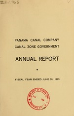 Annual report - Panama Canal Company, Canal Zone Government