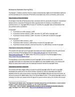 Retrospective Dissertation Scanning Policy