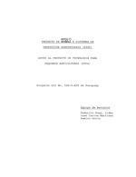Proyecto de apoyo a sistemas de produccion agropecuaria (FSSP)