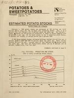 Potatoes & sweetpotatoes